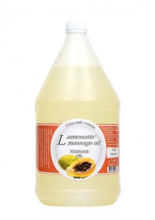 Lamenatt Massage Oil (Papaya) 3,600 ml.