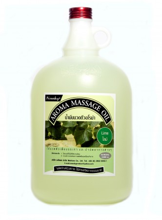 Newsky Aroma Massage Oil Lime 4,000 ml
