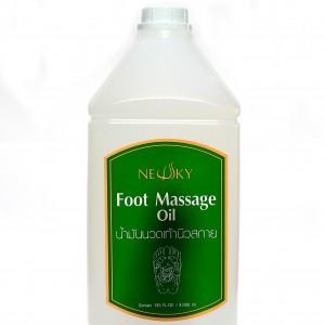 นิวสกาย น้ำมันนวดเท้า Newsky Foot Massage Oil 4000ml 4000มล.