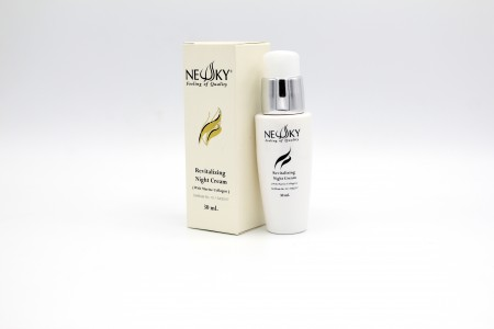 Newsky Revitalizing Night cream with Marine Collagen 30 ml.
