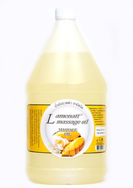 Lamenatt Massage Oil (Mango and Sticky Rice ) 3,600 ml.