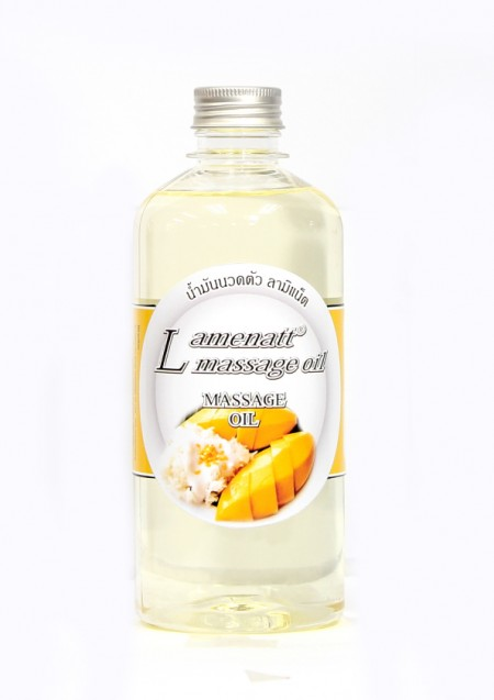 Lamenatt Massage Oil (Mango and Sticky Rice ) 450 ml.