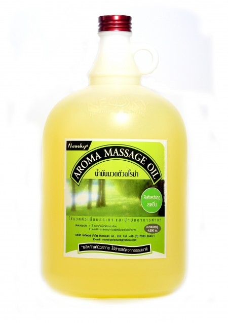 Newsky Aroma Massage Oil Refreshing 4,000 ml