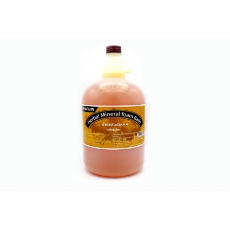 น้ำแร่แช่ผิว บีนาควิน กลิ่นสมุนไพร 4000 มล.