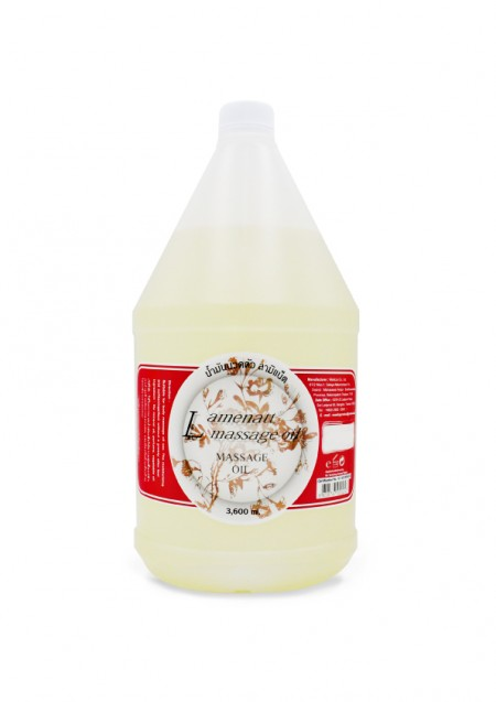 Lamenatt Massage Oil (Lemongrass) 3,600 ml.