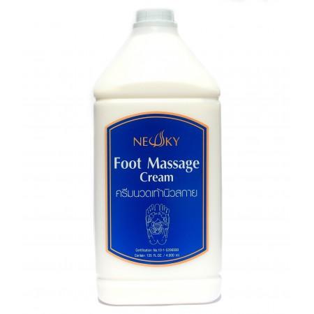 นิวสกาย ครีมนวดเท้า Newsky Foot Massage Cream 4000ml 4000มล.