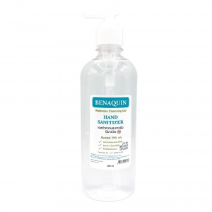 BENAQUIN Alcohol Hand Sanitizer Gel 500ml