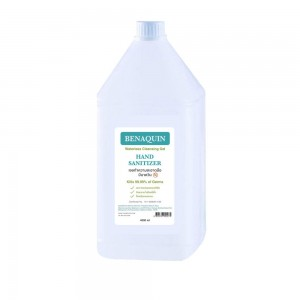 BENAQUIN Alcohol Hand Sanitizer Gel 4000ml