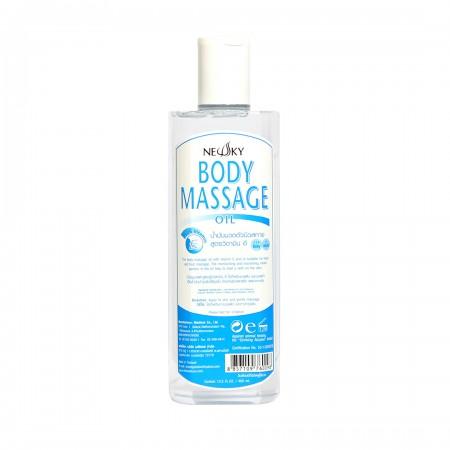 Newsky Body Massage Oil (Vitamin E) 400ml