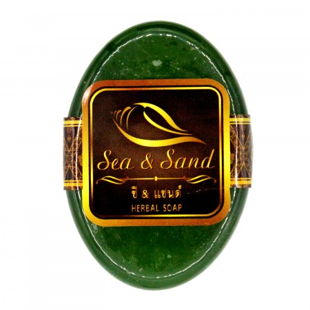 Sea & Sand Herbal Soap 100 g. (Green Herbs)