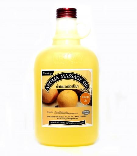 นิวสกาย อโรม่า ออย กลิ่นส้ม น้ำมันอโรม่า ส้ม Newsky aroma massage oil orange 1800ml 1800มล.