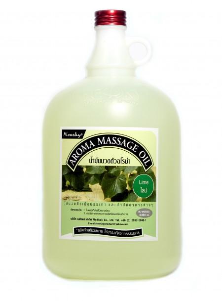 Newsky Aroma Massage Oil Lime 4,000 ml