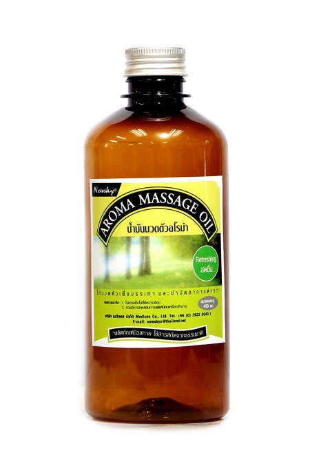 Newsky Aroma Massage Oil Refreshing 450 ml